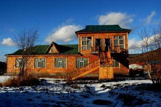 木刻楞木结构房屋