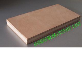 可贴木皮的 桃花芯面多层家具板