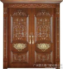 实木复合烤漆门2