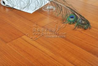 柚木-缅甸正宗柚木油漆地板