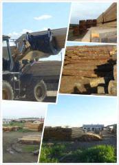 落叶进口原木加工板材