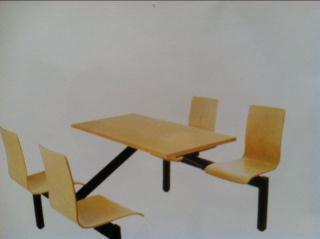 厂家直销肯德基快餐桌椅 不锈钢椅餐桌椅 饭店餐桌椅