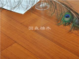 缅甸柚木地板 环保油漆 中国著名品牌