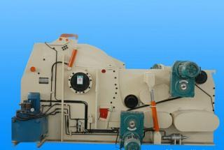 供应超高效55KW水滴型粉碎机,木屑削片粉碎一体机
