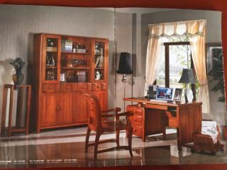 海棠木书柜