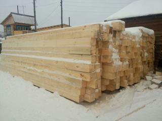 Wood square pine