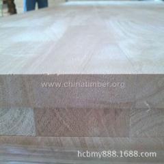 优质泰国橡胶木指接板14MM