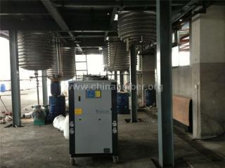 反应釜夹套冷水机,工业冷冻机