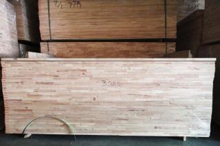 30厘AB级橡胶木拼版