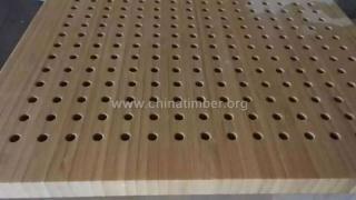 竹吸音板,竹穿孔板