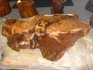 新西兰5万年阴沉木 成品茶台