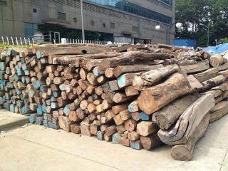 400吨红木低价转手