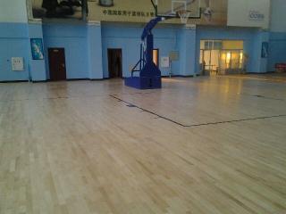 柞木体育运动地板(含龙骨结构及安装)