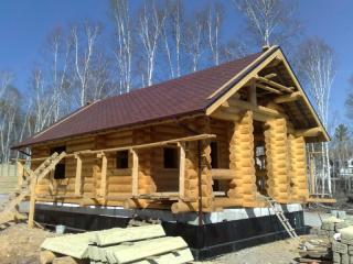 俄罗斯原装进口木质组装房