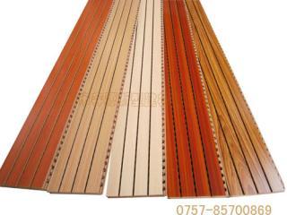 浙江吸音板厂家大量供应酒店槽木吸音板