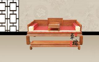 东阳红木山水罗汉床