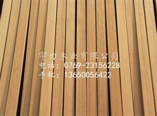 柚木材地板_颜色金黄_性能极稳