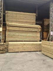 樟子松防腐木 户外景观碳化木