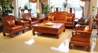 东阳红木家具国色天香沙发