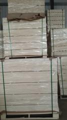 厂家直销出口美州E0环保级LVL床板条,全杨木直板