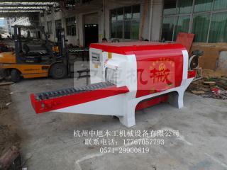 圆木锯板机器
