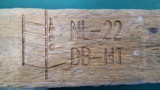 在木板上打标的激光打标机