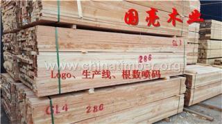工程跳板方木木材厂直销辐射松杉木方料