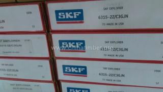 NU306ECJ/C3圆柱滚子轴承SKF进口轴承