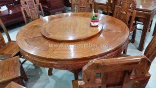 花梨家具--大圆桌(7件)