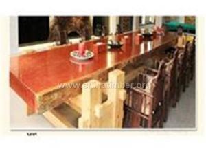 缅甸花梨木大板、办公桌、电脑桌、餐桌