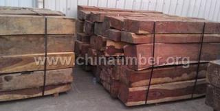 出售进口老挝花枝巴里黄檀原木