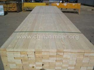 白松木方/俄罗斯进口3.5*13白松板材