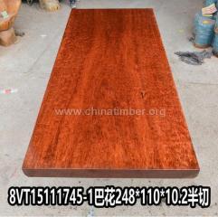 巴花大板 实木大板 老板桌办公桌原木巴西木