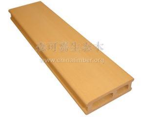 森可嘉装饰材料,低碳环保生态木PVC方木防水、防潮