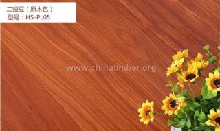 二翅豆实木地板进口地板本色