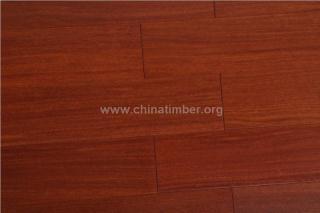 二翅豆实木地板进口地板红黄色