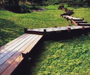 天津防腐木地板