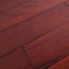 麦可麦乐桦木仿古实木地板波浪辊涂室内平扣环保地板
