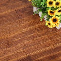 麦可麦乐橡木仿古实木地板锯齿pu室内平扣环保地板