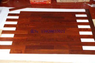 供应厂家直销 印茄木(菠萝格)实木地板