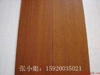 供应纽墩豆(非洲柚木)实木地板