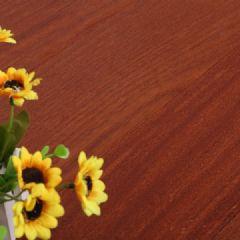 二翅豆(龙凤檀)实木地板平面耐磨红黄色