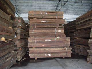 大量红檀香/香脂木豆方材原材进口木材供应