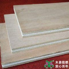阻燃多层板难燃胶合板夹芯工程板12mm包检抽检