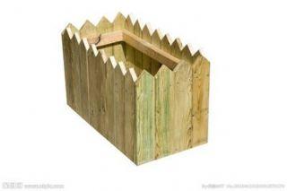 防腐木碳化木花箱