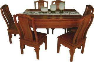 红酸枝家具 古典宁静致远餐台