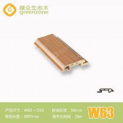 美式卧室装修板材W63防水防潮