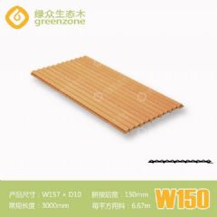 幼儿园装修环保板材 W150阻燃免漆