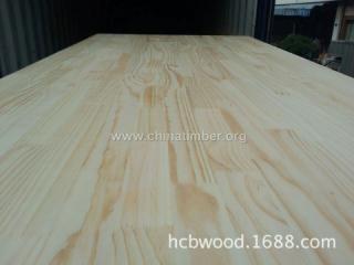 智利辐射松指接板 进口松木板实木 实木板材