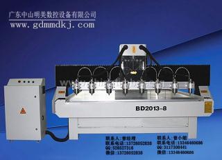 BD-2013一拖八高速雕刻机